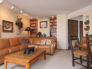Walk to town/lifts! 2 bd, modern condo, w/ hot tubs access!