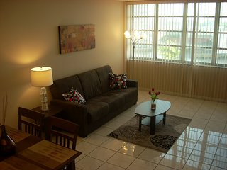 Furnished, upgraded unit across from Hallandale beach with amazing water views