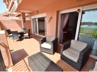 5 Star Mar Menor Golf Resort Par 72, 18 hole. 2nd Floor Apartment Sleep 5