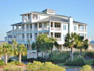 Halekai III Gulf Shores Premier Beachfront Home, New Pool for 2017