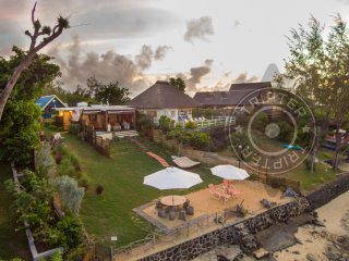MAOD Matibi 1BR beachfront bungalow in Calodyne