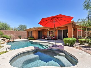 4BR Anthem CC House w/ Heated Pool & Hot Tub!