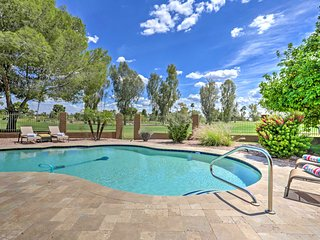 Scottsdale Golf Course Home w/ Private Pool & BBQ!