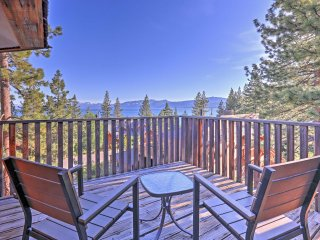 New! 4BR Lake Tahoe Area Home w/ Panoramic Views!