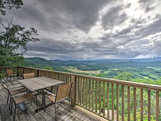 NEW! 4BR Brevard House w/ Stunning Views & Deck!