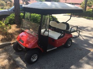 Now offering 15 % off stays in AUGUST!  GOLF CART INCLUDED, FREE ACTIVITIES!