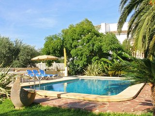 Spacious villa close to the center of Xàbia with Internet, Washing machine, Air