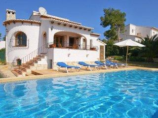 Spacious villa in Xàbia with Internet, Washing machine, Pool