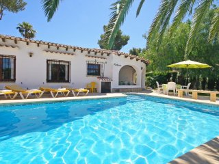 Cozy villa in the center of Balcón del Mar with Internet, Washing machine, Air c