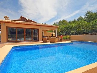 Spacious villa in Xàbia with Internet, Washing machine, Air conditioning, Pool