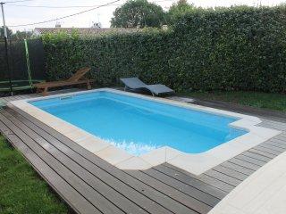 Rez villa 4 couchages au calme et au soleil sur la cote d'Azur