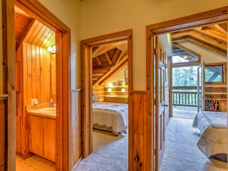 New! 3BR Brule Village Cabin - Ski Slope Views!