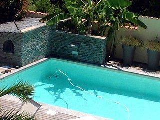 Chambres d'hotes, piscine, plage, calme et  vue mer