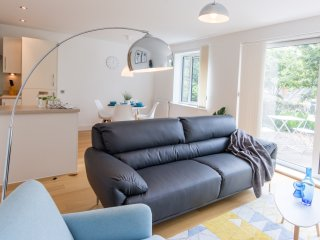 Stunning Newbury Parkway flat for 1-4