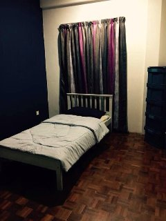 Bedroom 4 (Fan) - Single size bed with sharing toilet with Bedroom 2