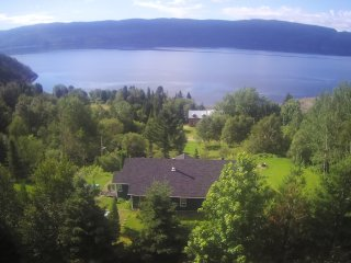 Splendid Panorama Fjord Saguenay! Mountain retreat