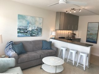 Newly Remodeled, Beautiful 1 Bedroom Apartment steps to the BEACH