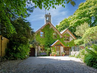 There is plenty of room for parking outside the cottage, and along the securely gated driveway.