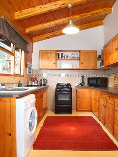 Fully equipped kitchen with everything you need and more!
