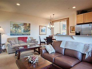 Steps from downtown Breck & lifts - sleeps 6, outdoor hot tub!
