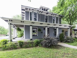 4BR Historic East Nashville Gem w/ Brand-New Furniture & High-End Fixtures