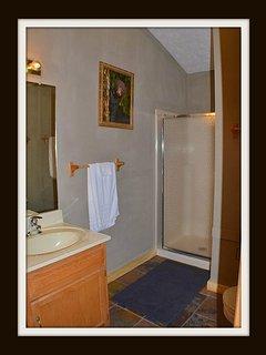 bathroom / shower on main floor