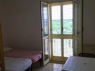 Camera 4 posti letto in autogestione con interno bagno