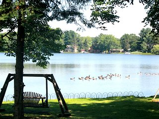 Rent our PONTOON stay at our Pet & Family Friendly Private Lake Home with dock