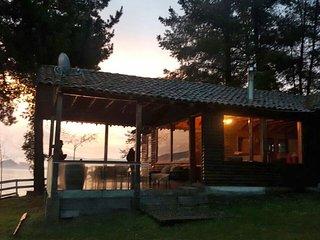Fundo El Raigon a 46 km. de Concepcion. Amplia cabana en maravilloso entorno.