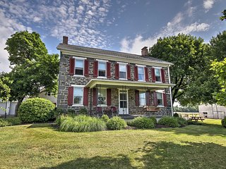 Historic 3BR Gettysburg House w/ Heated Pool!