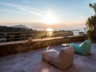 Aeginitissa House 'Galini' - Aegina Island - Amazing sea mountain sunset view