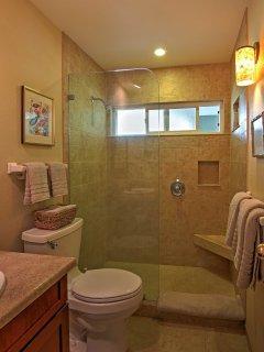 The condo has 2 full bathrooms.
