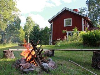 Ferienhaus in Sudschweden, Alleinlage auf herrlichem Naturgrundstuck.