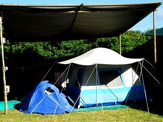 Ponta Beach Camps: Private Camp Sites
