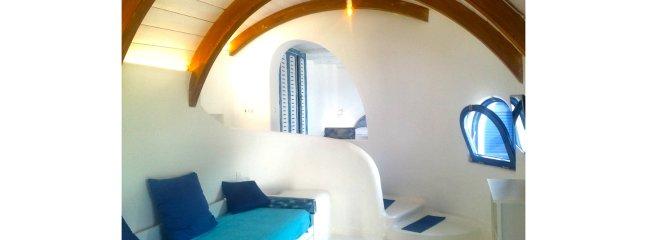 Apartment Domus, small house, on a mediterranean style. Ischia Island by the Amalfi coast, Capri...