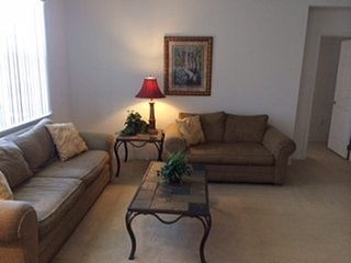 Windwood Bay 4/3 Pool Home property, fully furnished, with full kitchen, and