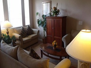 This is a Condo property, fully furnished, with a full kitchen, and has all