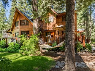 5BR w/ Private Beach & Pier Access in Tahoe Pines – Near Bike Path