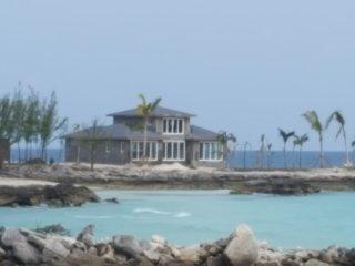 Private Beach and Cay at the Sayle Point House, Rainbow Bay, Eleuthera Bahamas