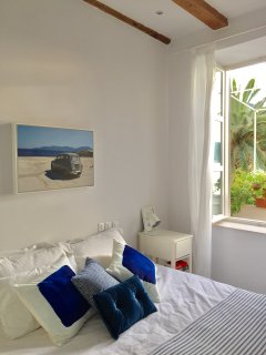 Bedroom 2 - has its own terrace and stunning views from the large windows