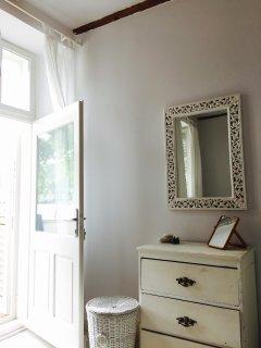 Bedroom 2 - door to terrace