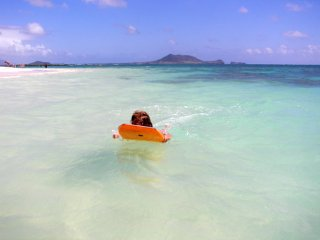 ON BEAUTIFUL KAILUA BEACH