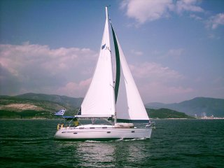 SAILING BOAT OCEANOS - house