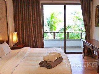 Pool View 2-Bed Apartment near Nai Thon Beach