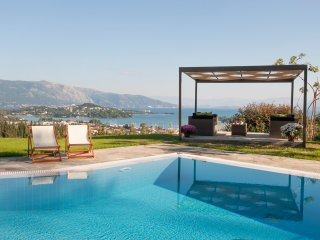Villa Evridiki with private pool and a magnificent view