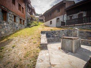 Chalet Renoir - 150 m2 dans le hameau au plein centre de La Tania