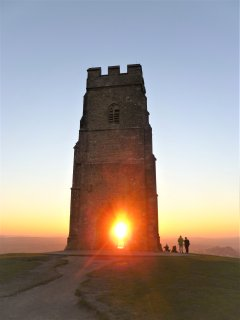 Sunset on the Tor.