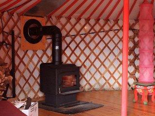 Big Red Yurt