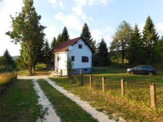 House near Plitvice Lakes