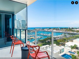 Luxurious NEW Oceanfront Condo in exclusive Honolulu high-rise centrally located